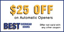 Best Overhead Doors Coupons and Specials